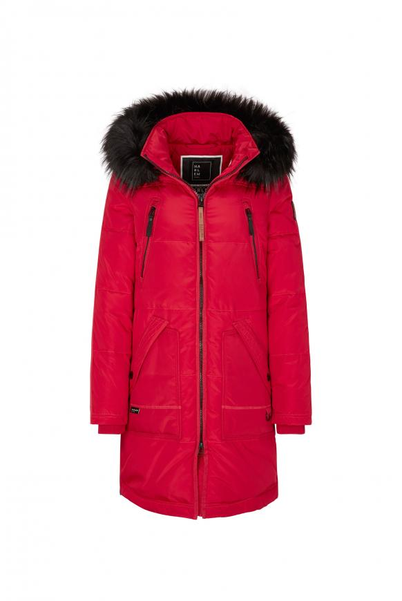 CIN-DY Stepp-Parka mit Kapuze red