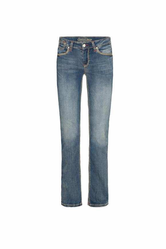 Comfort Fit Jeans CO:LE mit Used-Optik
