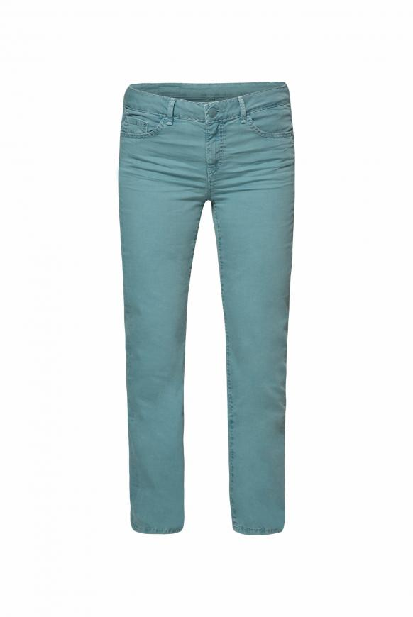 Comfort Shape Jeans EL:KE mit Used-Optik mint