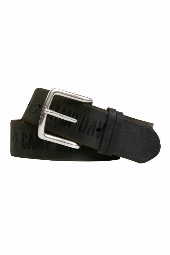 Gürtel mit Used-Optik black
