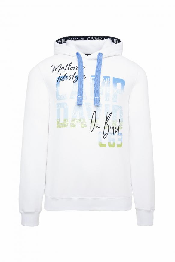 Hoodie mit Special Photoprints opticwhite
