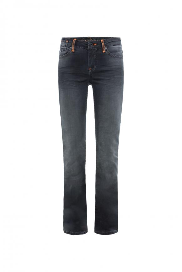 Jeans CO:LE in Used-Optik und Bootcut anthra aged