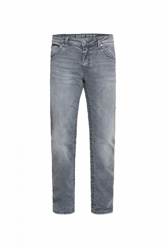 Jeans CO:NO im Vintage Look mit geradem Bein grey used