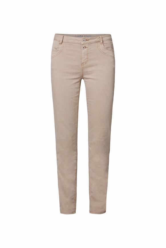 Jeans DE:BY im Jogg Mix mit Streifentape cozy beige