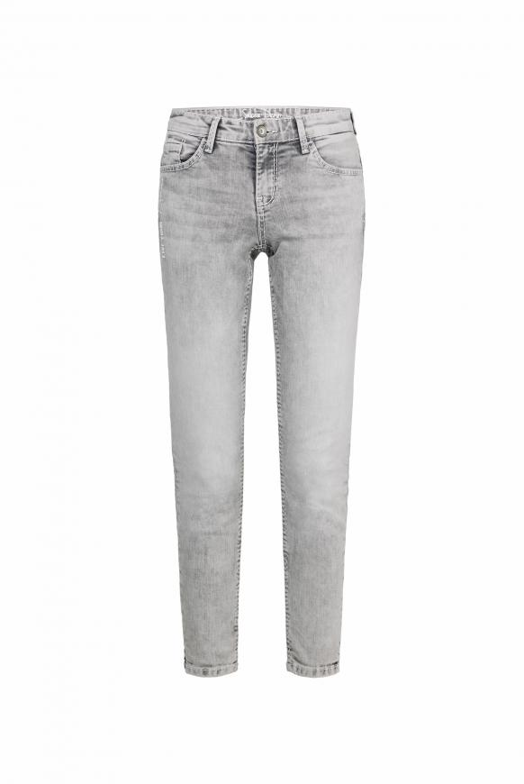 Jeans MI:RA mit Back Prints grey used printed