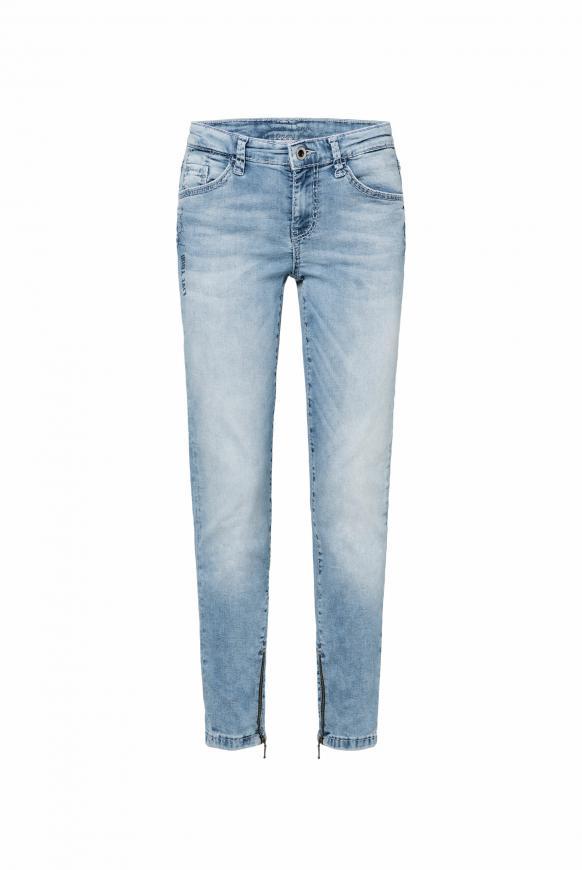 Jeans MI:RA mit Back Prints blue used