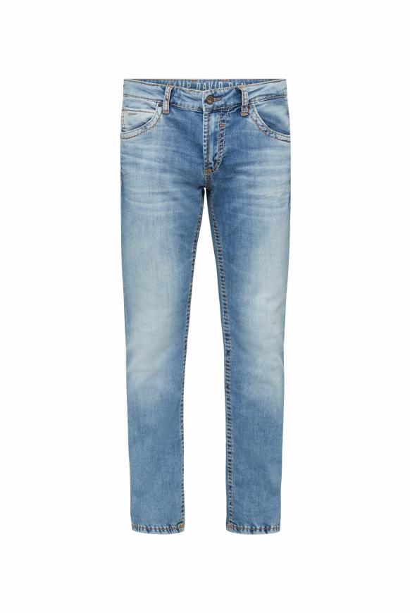 Jeans NI:CO im Vintage Look mit breiten Nähten light vintage
