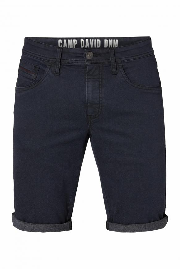 Jeansshorts DA:VD mit Turn-Up-Saum black