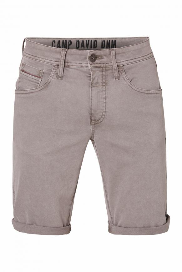 Jeansshorts DA:VD mit Turn-Up-Saum shadow