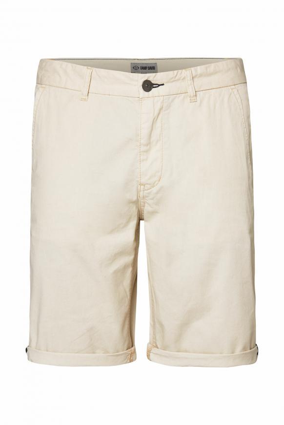 Klassische Chino Shorts summer beige