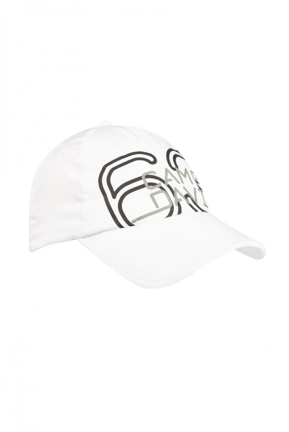 Leichtes Basecap mit Logo Print opticwhite