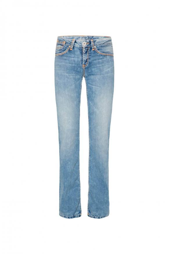 Light Random Jeans CO:LE mit Neon-Details, Comfort Fit light random used