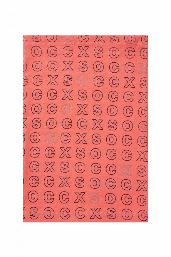 Loop-Schal mit Artwork flashy red