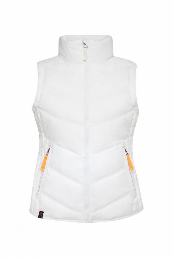 Outdoorweste mit Zippertaschen opticwhite