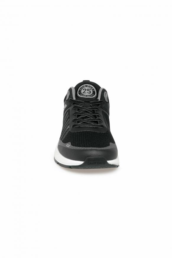 Power Sneaker mit Strick-Struktur und Logo black