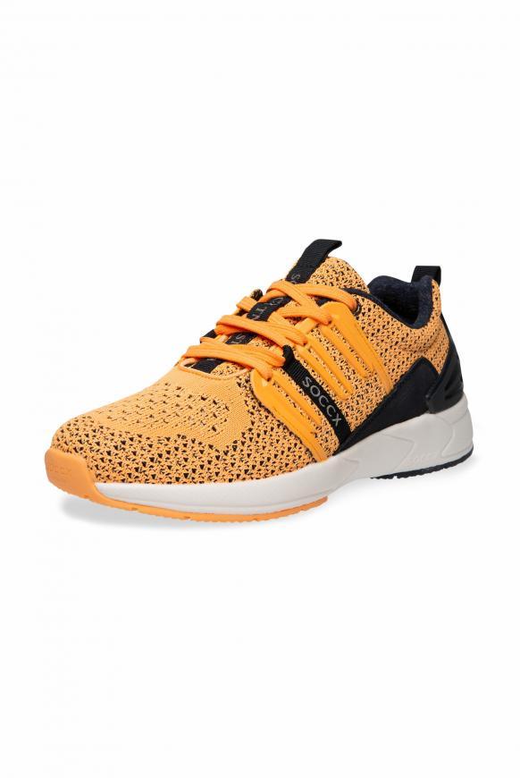Premium Sneaker mit Strick-Struktur