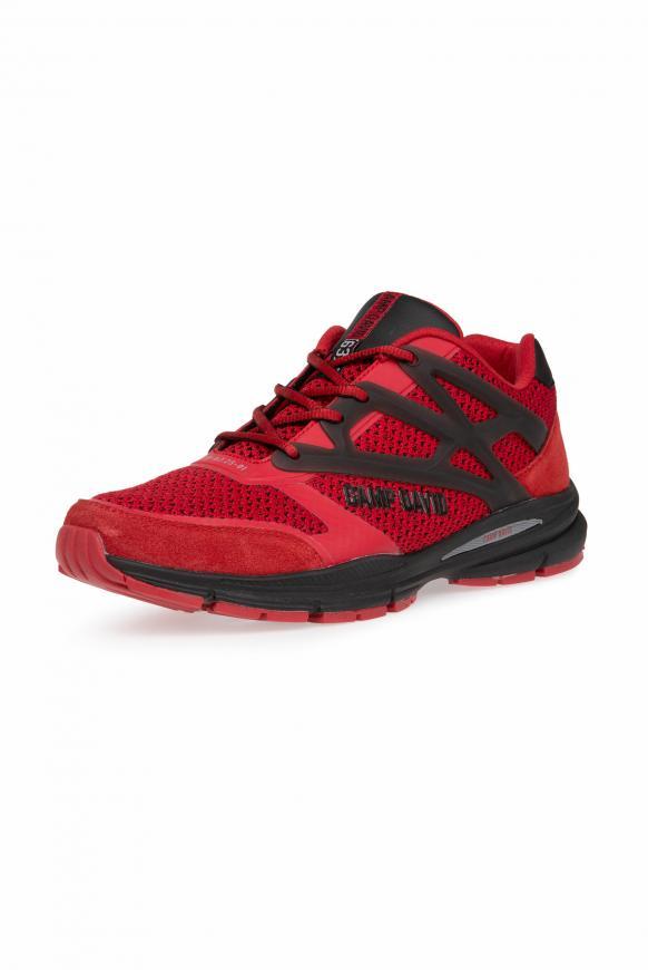 Premium Sneaker mit Strick-Struktur bright red