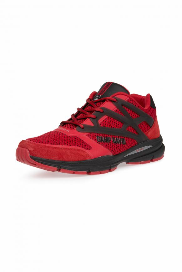Premium Sneaker mit Strick-Struktur bright red