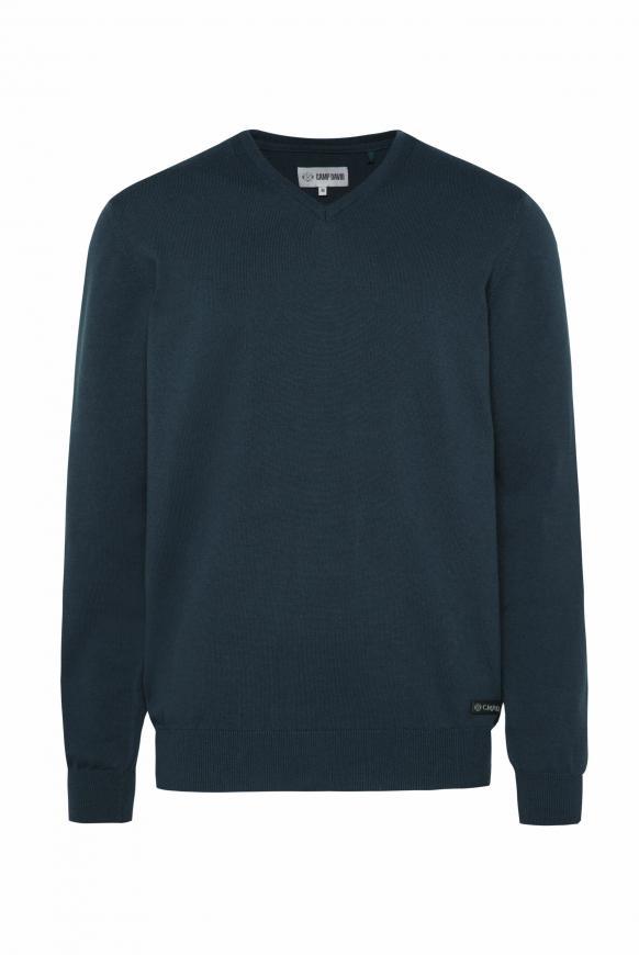 Pullover mit V-Neck deep sea