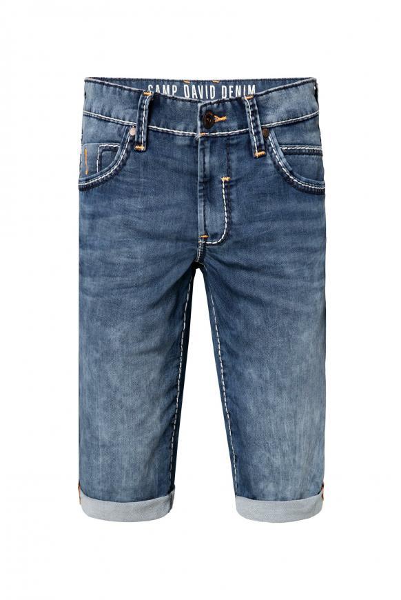 RO:BI Skater Shorts aus Sweatmaterial dark blue