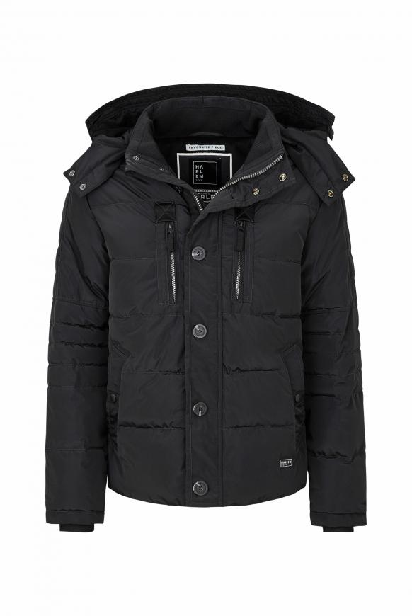 SEA-TTLE Winterjacke mit Kapuze black