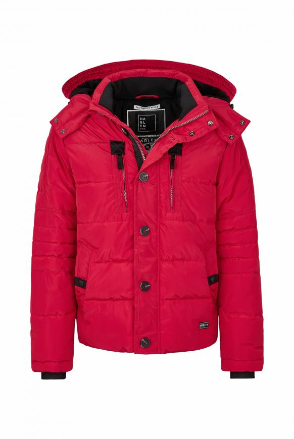 SEA-TTLE Winterjacke mit Kapuze flag red