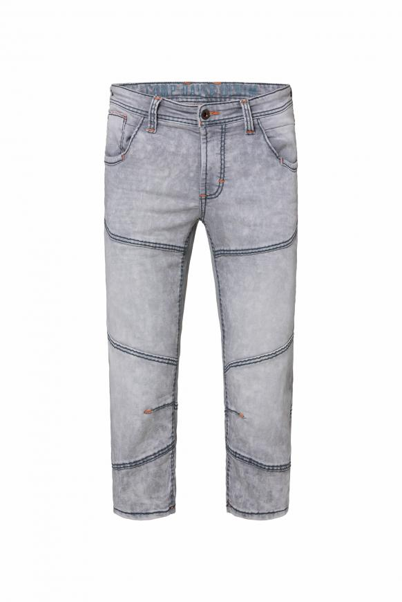 Skater Jeans HE:RY aus Sweatmaterial grey used
