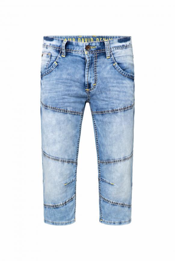 Skater Shorts HE:RY im Used Look jogg random blue