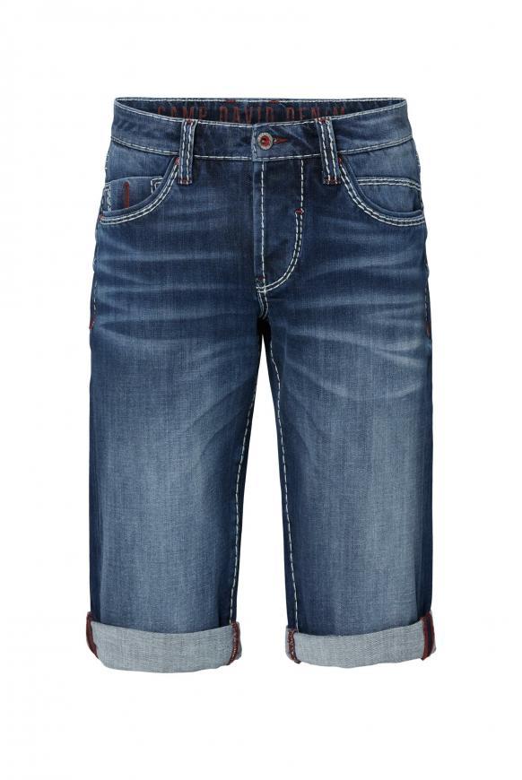 Skater Shorts RO:BI mit Knopfverschluss dark blue used