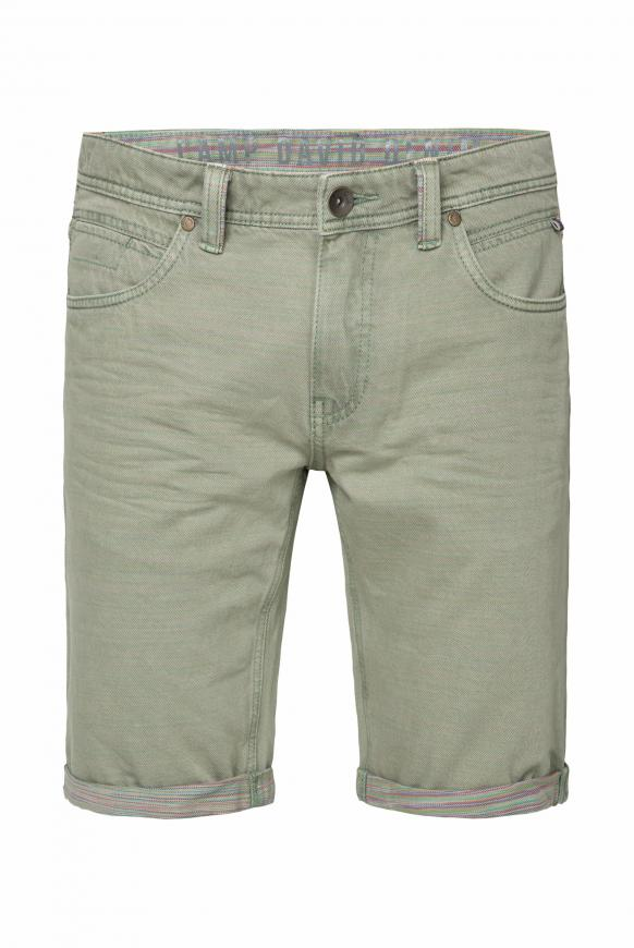 Skater Shorts ST:AN mit bunter Innenseite khaki