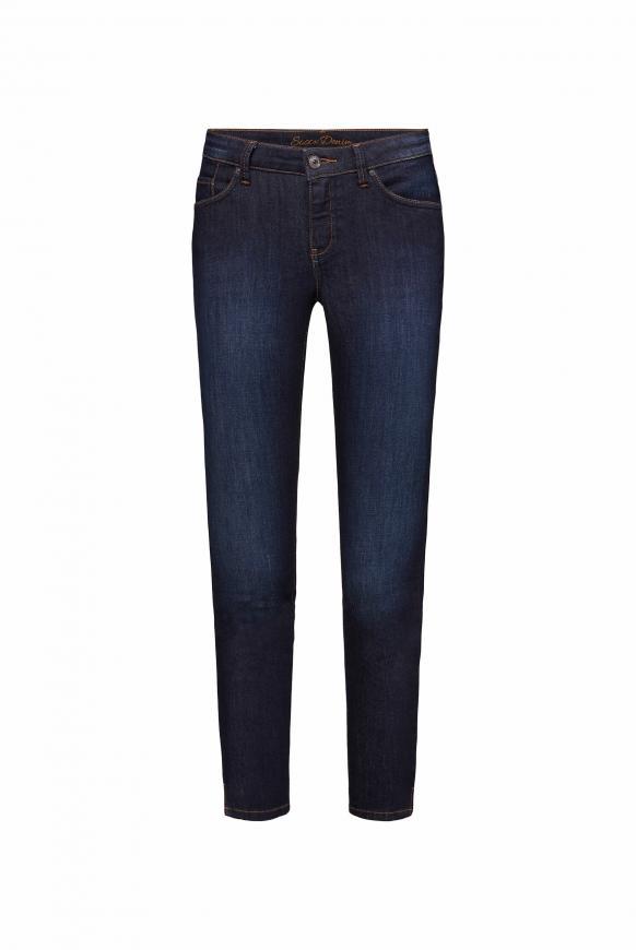 Slim Fit Jeans MI:RA mit dunkler Waschung dark rinsed