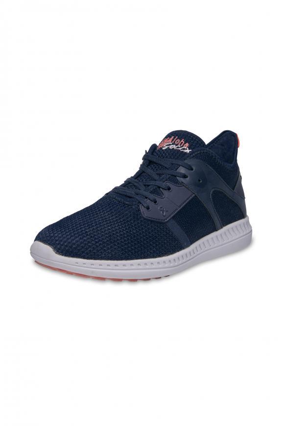 Sneaker aus Mesh blue soul