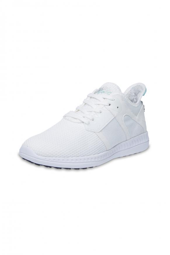 Sneaker aus Mesh white
