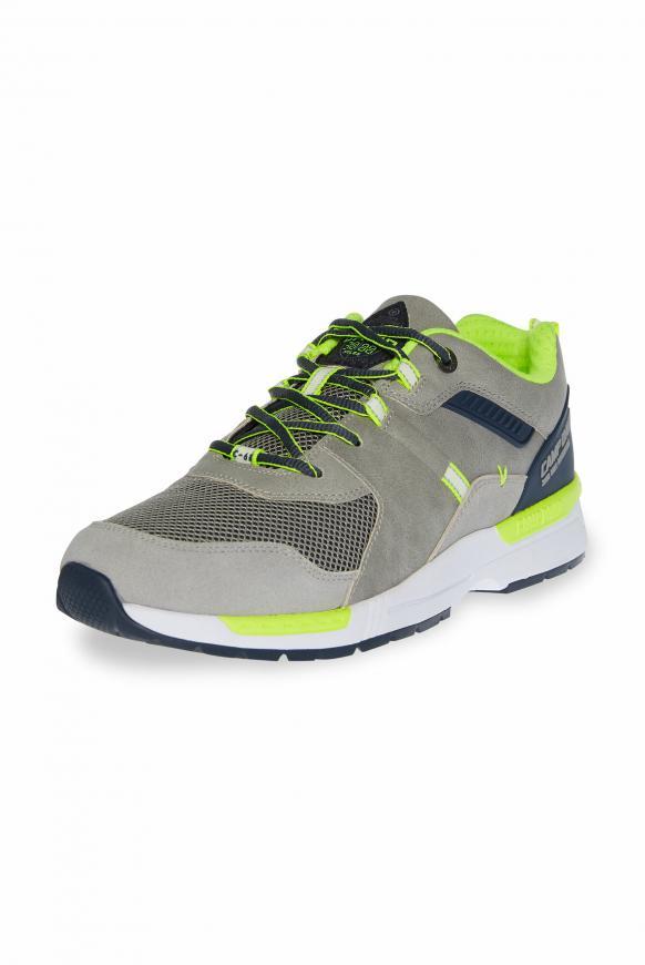 Sneaker im sportiven Materialmix grey