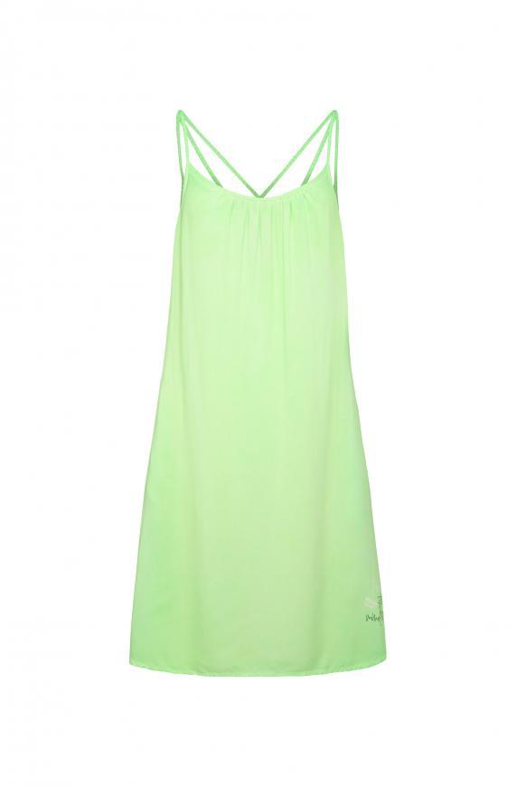 Sommerkleid mit Träger-Design am Rücken lemon drop
