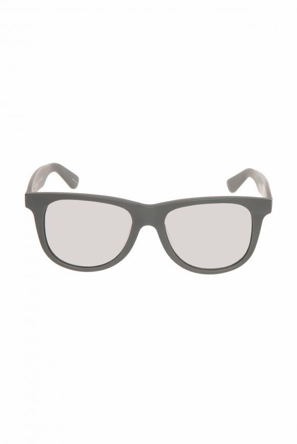 Sonnenbrille mit Vollrandfassung grey