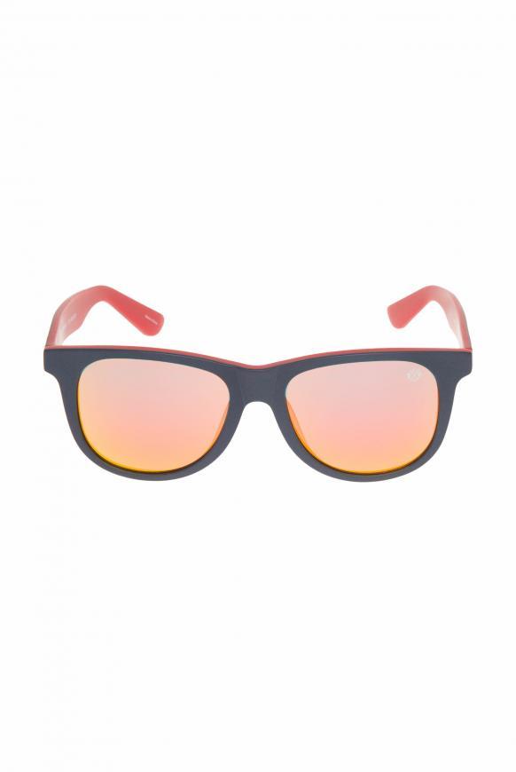 Sonnenbrille mit Vollrandfassung blue / red