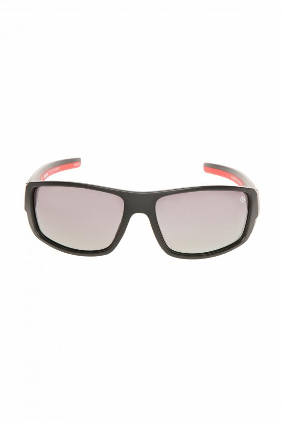 Sport-Sonnenbrille polarisiert black / red