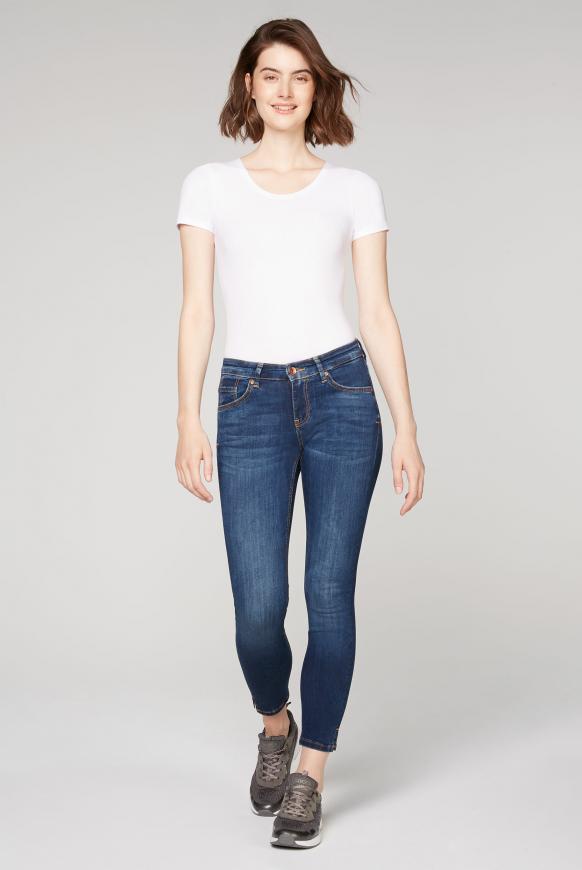 Stretch-Jeans MI:RA im Vintage Look authentic blue
