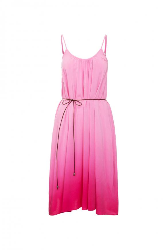 Trägerkleid mit Dip-Dye-Effekt tribal pink