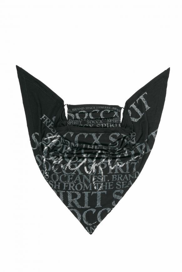 Triangle-Tuch mit Logo Artwork black