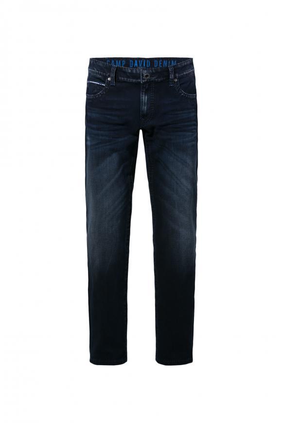 Used-Waschung Multi Flex Jeans CO:NO dark blue