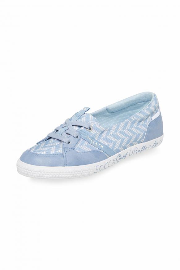 Veganer Ballerina-Sneaker soft sky