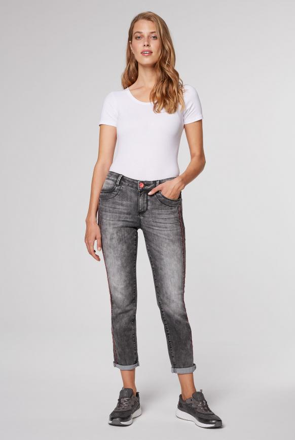 Comfort Fit Jeans CH:AR mit Vintage-Waschung