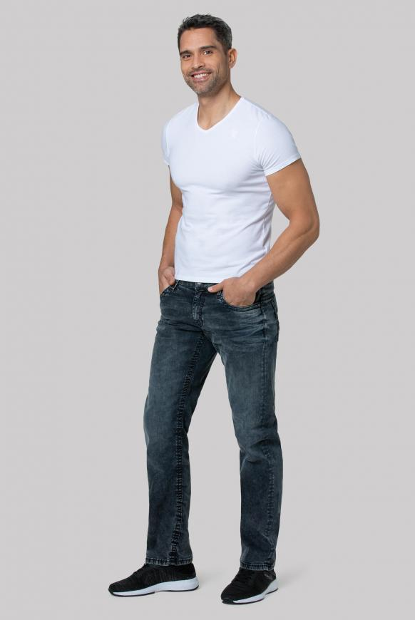 Comfort Fit Jeans CO:NO im Used Look