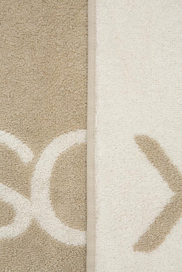 Handtuch aus Frottier mit Logo