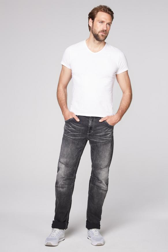 Jeans HE:RY im Vintage Look mit Teilungsnähten