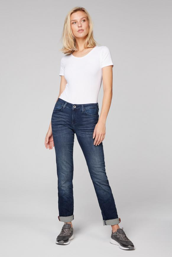 Jeans RO:MY aus Sweatmaterial in Denim-Optik