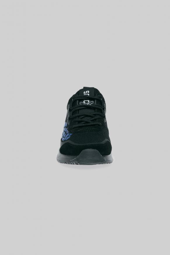 Keil-Sneaker mit Rubber Artwork