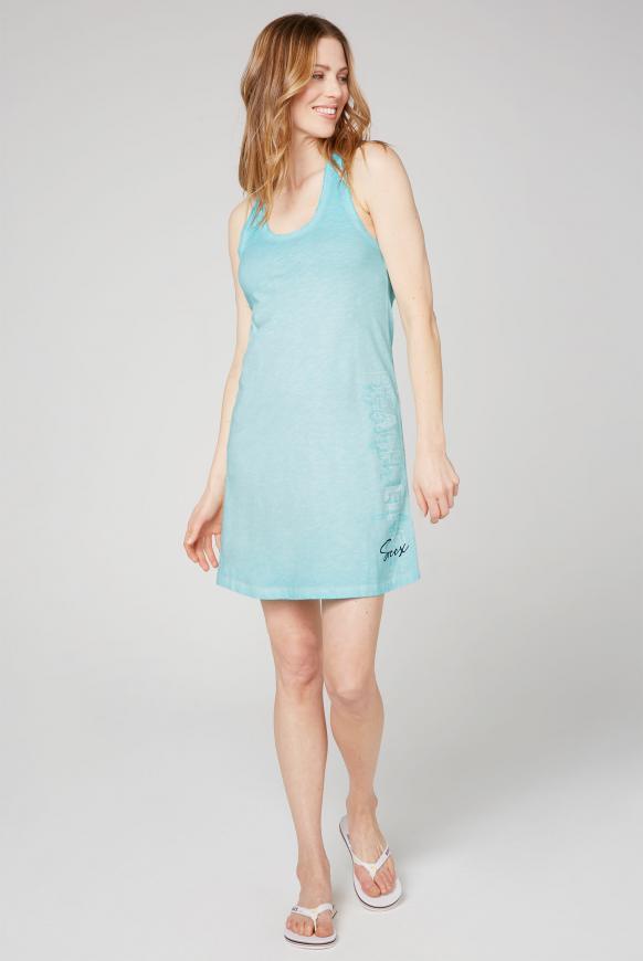Kleid mit Knoten-Detail am Rücken